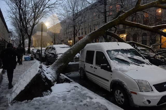 ВСША отменили неменее 3-х тыс. авиарейсов из-за снежной бури