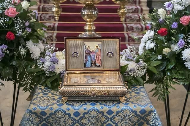 Уже сегодня вЛипецк прибывает ковчег счастицей пояса Пресвятой Богородицы