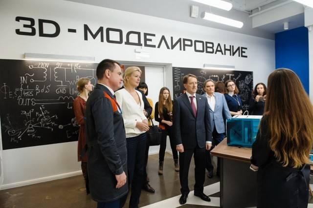 Вдетском технопарке «Кванториум» воронежцы будут конструировать роботов
