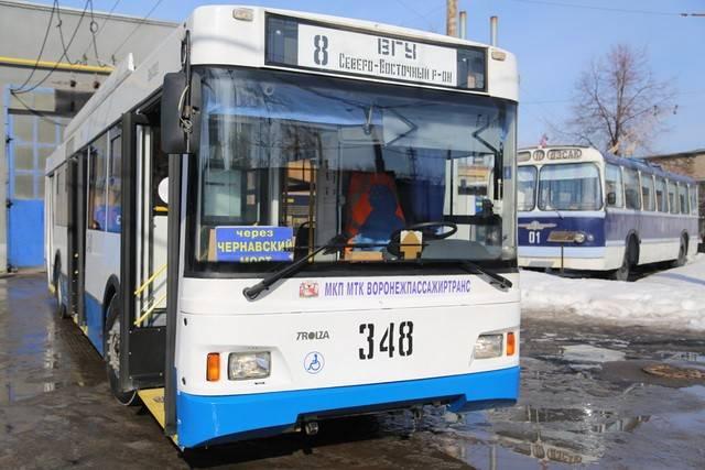 Проезд вворонежских троллейбусах сейчас можно оплатить картой