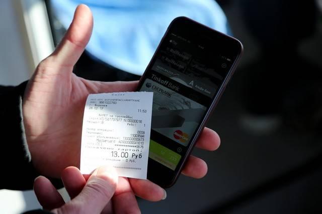 Вворонежских троллейбусах ввели систему безналичной оплаты