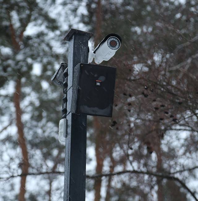 Вворонежских парках начали работать камеры видеонаблюдения