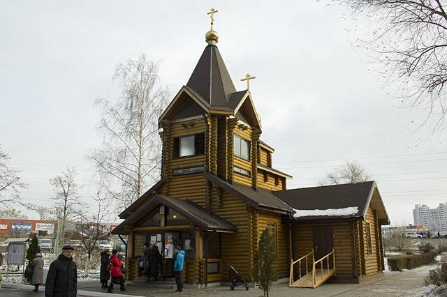 ВВоронеже сегодня освятят деревянный храм натерритории БСМП №1