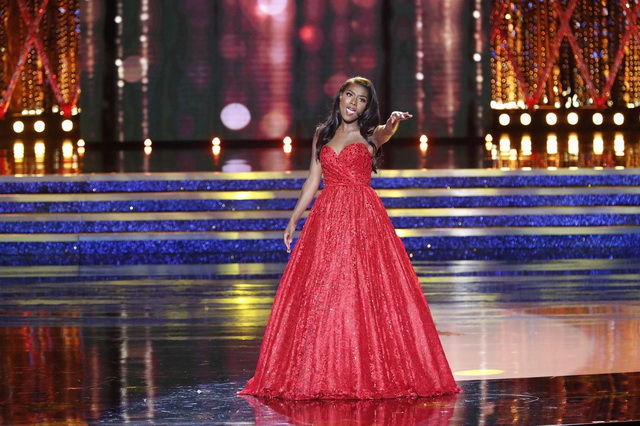 Наконкурсе «Мисс Aмерика» одолела эстрадная певица и автор изНью-Йорка