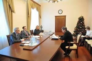 Михаил Бычков представил Алексею Гордееву программу VIII Платоновского фестиваля искусств