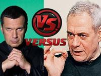 Публично сцепились известные журналисты Владимир Соловьёв и Сергей Доренко