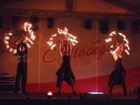 Огненный фестиваль «Огни Победы» в седьмой раз будет зажигать на Адмиралтейской площади Воронежа