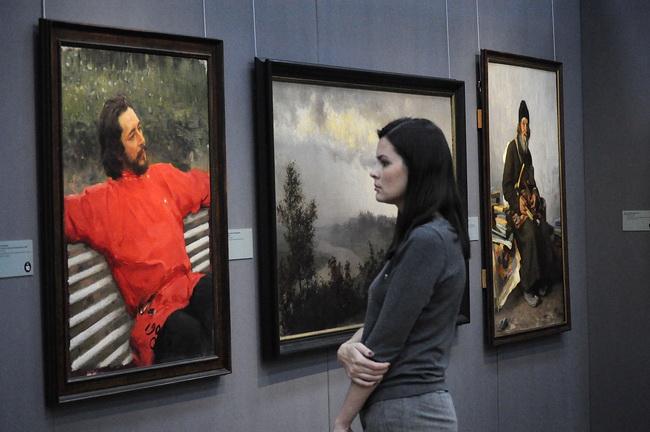 В Воронеже открылась выставка «Сокровища музеев России»