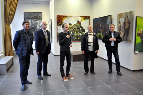 В Воронеже открылась художественная выставка, посвящённая юбилею института искусств