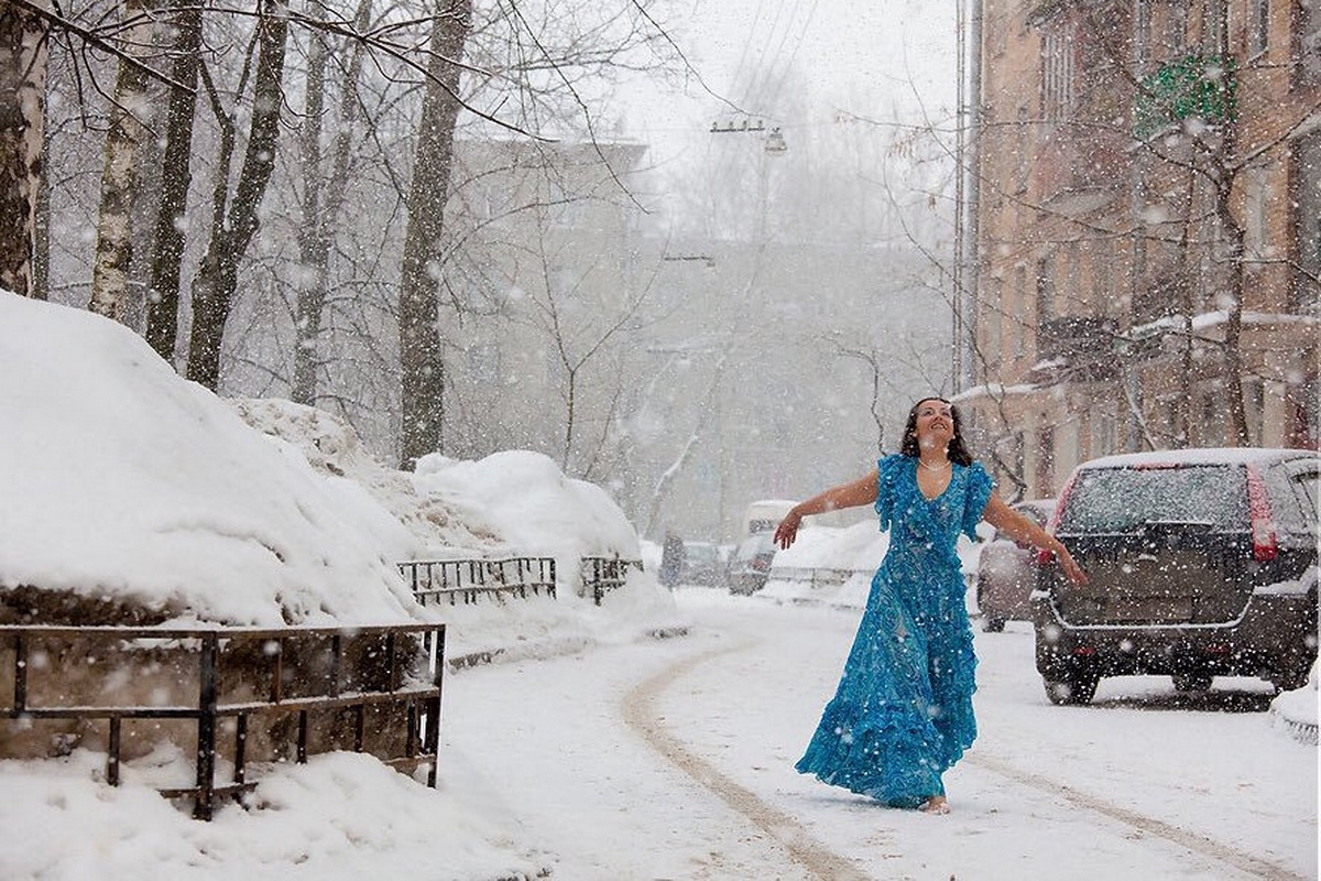 Прикольные картинки зима наступила весна